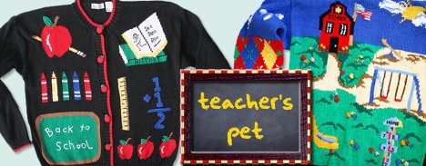 Ugly Sweaters for Back To School from TheUglySweaterShop.com